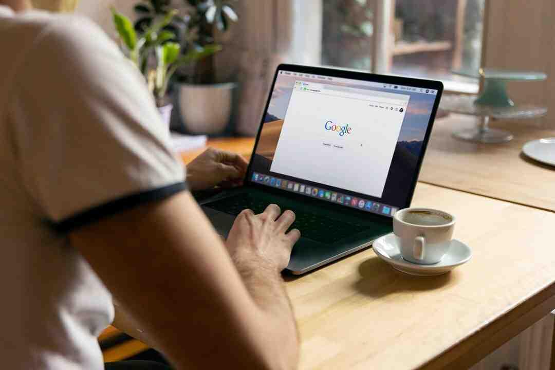 Comment supprimer la page d'accueil google ?